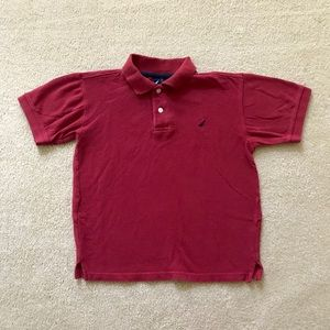 Boy's Nautical Polo Shirt